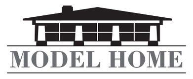 Modell Home Royaltyfria Foton