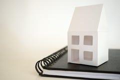 Modell Home Royaltyfri Foto
