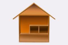 Modell Home Arkivfoto