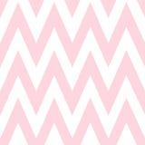 Modell i sicksack Sömlösa rosa färger för klassisk sparre vektor illustrationer