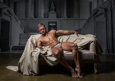 Modell i slott Royaltyfri Fotografi