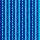 Modell med blåa vertikala band Arkivbild