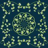 Modell med gröna sidor Royaltyfria Foton