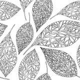 Modell med leafs Royaltyfria Bilder