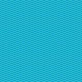Modell med vågor också vektor för coreldrawillustration 10 eps Arkivfoton
