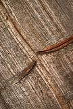 Modell på gammalt wood bräde Royaltyfri Fotografi