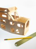 Modell Plane Construction Arkivbilder