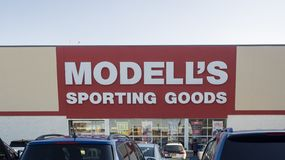 Modell`s exterior royalty free stock image
