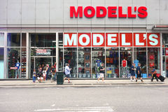Modell's Royalty Free Stock Photo