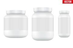 Modell-Sport-Nahrungs-Behälter Molkeprotein und