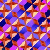 modell texturerad traditionell vektortappning Arkivbilder