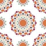 modell texturerad traditionell vektortappning bukettbows figure seamless litet för blommamodell retro tryck kaleidoscope Royaltyfri Bild