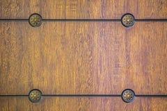 Modell träpanel Gammal textur av ett träkabinett eller byrå royaltyfri fotografi
