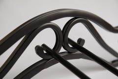 Modell vom Metall stockbild