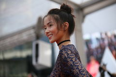 Modell Xiao Wen Ju Arkivbilder