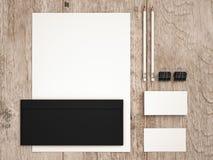 Modellaffärsmall Uppsättning av beståndsdelar för att brännmärka identitet fotografering för bildbyråer