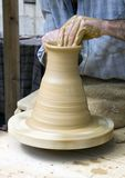 Modellatura dell'argilla Fotografie Stock Libere da Diritti