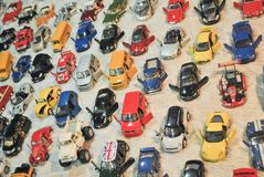 Modellautos, Spielzeugautos Lizenzfreie Stockfotografie