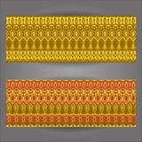 Modellbakgrund med geometriskt beståndsdelar Royaltyfri Bild