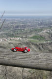 Modellbau des berühmten Rennwagens bei San Marino Stockfotos