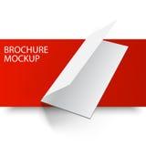 Modellbroschyr blank5-01 Fotografering för Bildbyråer