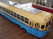 Modelle von Oberleitungsbusen, Modelle der Stadt elektrisch stockfotografie