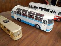 Modelle von Oberleitungsbusen, Modelle der Stadt elektrisch stockbild
