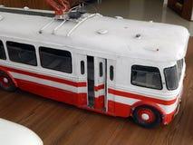Modelle von Oberleitungsbusen, Modelle der Stadt elektrisch lizenzfreies stockfoto