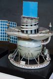 Modelle von Raumschiffen im zentralen Haus von Luftfahrt und von Cosmon lizenzfreies stockbild