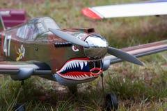 Modelleer Vliegtuig Stock Afbeeldingen