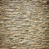 Modellen av dekorativt kritiserar stenväggen Royaltyfria Foton