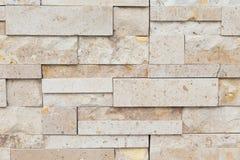 Modellen av dekorativt kritiserar stenväggen för bakgrund arkivfoto