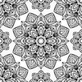 Modellen av mandalas Royaltyfria Bilder