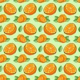 Modellen av orange apelsiner Arkivbilder