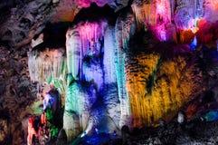 Modellen av stalaktit Fotografering för Bildbyråer