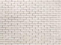 Modellen för Closeupyttersidategelsten på den gamla kräm- väggen för färgstentegelsten texturerade bakgrund Royaltyfri Bild
