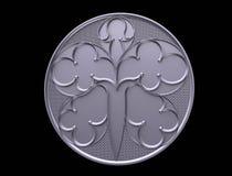 Modellen för formuleringarna, logo, emblem, affär, amulett, förutsägelse, framtid, prydnad som är svart, trä som är trä, kulturfö vektor illustrationer