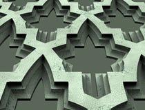 Modellen för formuleringarna, logo, emblem, affär, amulett, förutsägelse, framtid, prydnad som är svart, trä som är trä, kulturfö royaltyfri illustrationer