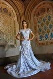 Modellen Kalyn Hemphill poserar i inre Royaltyfria Foton