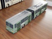 Modellen van trolleybussen, elektrische modellen van stad royalty-vrije stock afbeelding