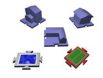 modeller Arkivbilder