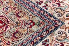 Modeller av orientaliska mattor arkivfoto