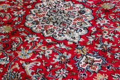 Modeller av orientaliska mattor arkivbild