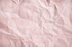 Modeller av tomt skrynklaljus - brun pappers- abstrakt bästa sikt för textur för bakgrund royaltyfria bilder