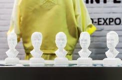 Modeller av världspolitiker Royaltyfria Bilder