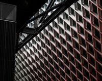 Modeller för arkitektonisk design arkivfoton