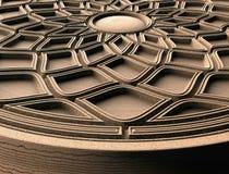 Modeller för den arkitektoniska inredesignen, 3D illustration, konstnär, textur, grafisk design, arkitektur, illustration, symbol vektor illustrationer