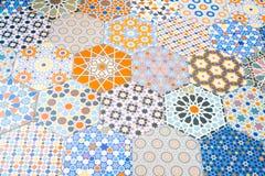 Modeller för keramiska tegelplattor royaltyfri fotografi