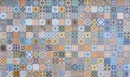 Modeller för keramiska tegelplattor Royaltyfria Bilder