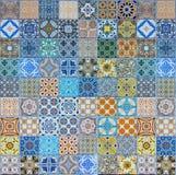 Modeller för keramiska tegelplattor Arkivbild